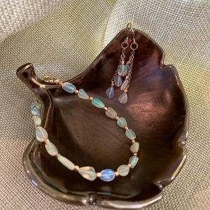 """Jewelry - Ethiopian """"Welo"""" Opal Bracelet & Earrings"""